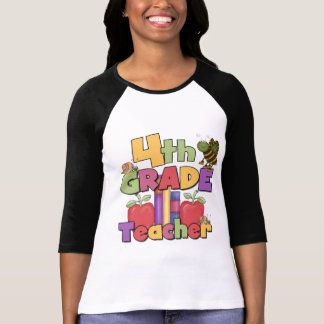 Bugs and Apples 4th Grade Tshirts and Gifts