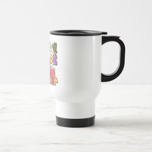 Bugs and Apples 5th Grade Teacher Coffee Mug