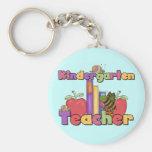 Bugs and Apples Kindergarten Teacher Keychains