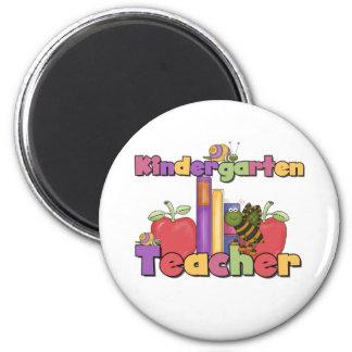 Bugs and Apples Kindergarten Teacher Magnet