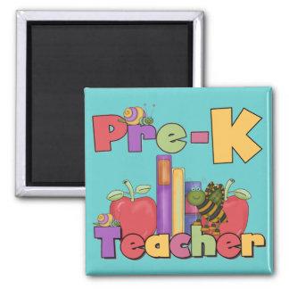 Bugs and Apples Pre-K Teacher Magnet