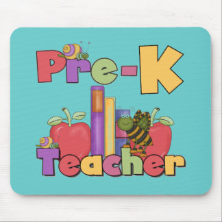 Bugs and Apples Pre-K Teacher Mouse Pad
