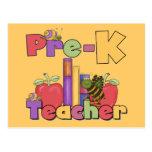 Bugs and Apples Pre-K Teacher Postcards