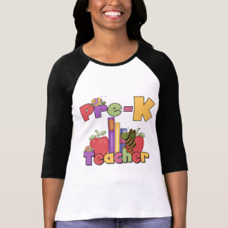 Bugs and Apples Pre-K Teacher Tshirts and Gifts