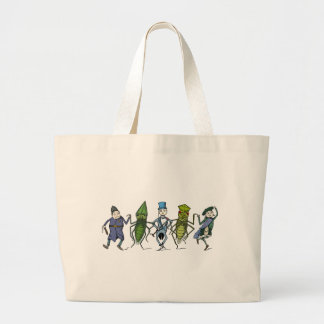 Bugs and Brownies Do a Dance Canvas Bags