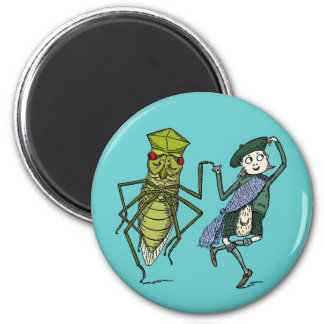 Bugs and Brownies Do a Dance Magnets