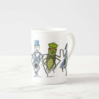 Bugs and Brownies Do a Dance Tea Cup