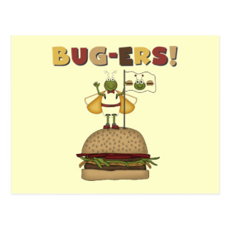 Bugs and Burgers Tshirts and Gifts Postcard