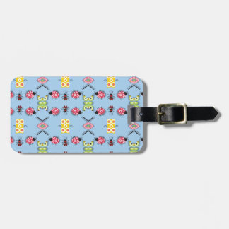 Bugs and Butterflies Tag For Luggage