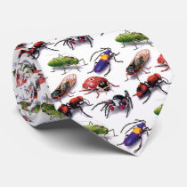 bugs and insects tie