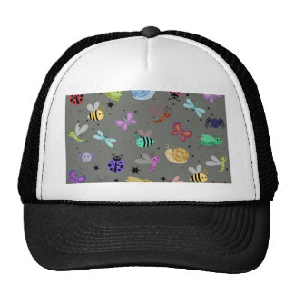 Bugs and insects trucker hat