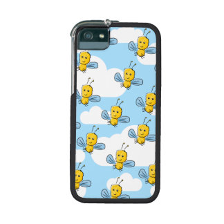 Bugs and Sky Pattern iPhone 5/5S Cases