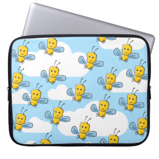 Bugs and Sky Pattern Laptop Computer Sleeves