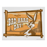 Bugs Bad Hare Day! Posters