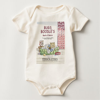 Bugs Boodle Book Cover Baby Bodysuit