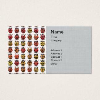 Bugs, Bugs, Bugs - Bugs Pattern Business Card