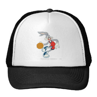 Bugs Bunney Dribbling Through The Competition Hat