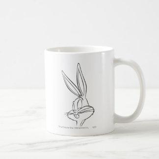 Bugs Bunny 2 expresivos Taza