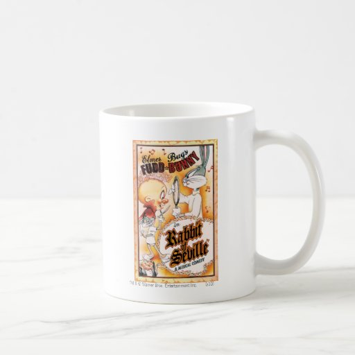 BUGS BUNNY™ and Elmer Fudd Musical Coffee Mug