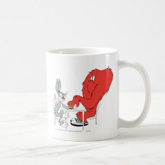 BUGS BUNNY™ and Gossamer 2 Classic White Coffee Mug