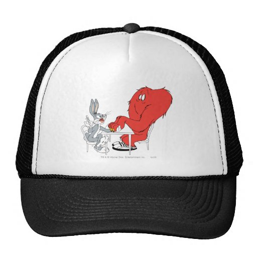 Bugs Bunny and Gossamer 2 Mesh Hats