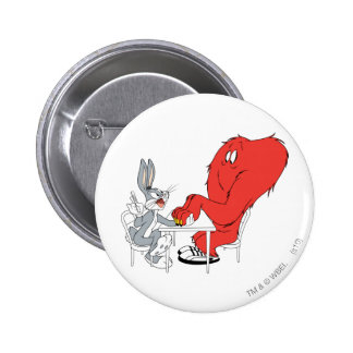 BUGS BUNNY™ and Gossamer 2 Pinback Button