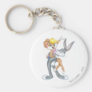 BUGS BUNNY™ and Lola Bunny 2 Keychain