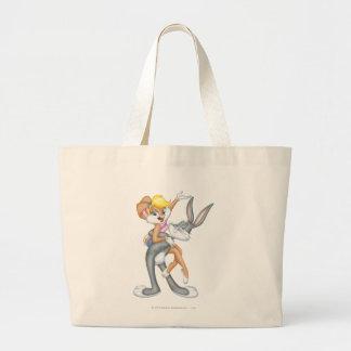 BUGS BUNNY™ and Lola Bunny 2 Large Tote Bag