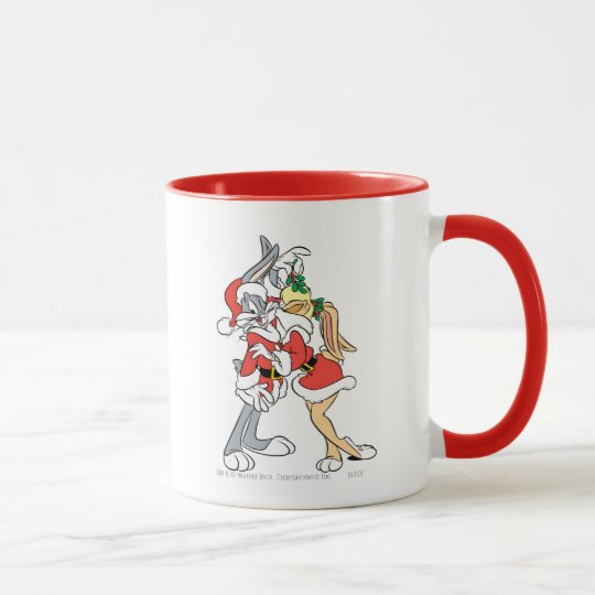 BUGS BUNNY™ and Lola Mistletoe Kiss Mug