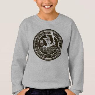 BUGS BUNNY™ Bronx Bomber's Round Logo B/W Sweatshirt