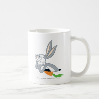 Bugs Bunny con la zanahoria Taza De Café