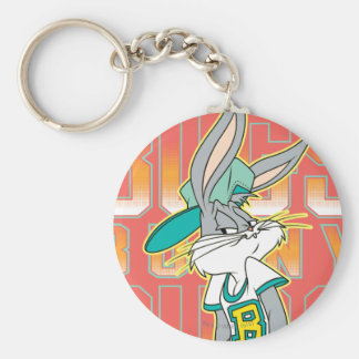 BUGS BUNNY™ Cool School Outfit Basic Round Button Keychain