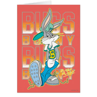 BUGS BUNNY™ Cool School Outfit Card