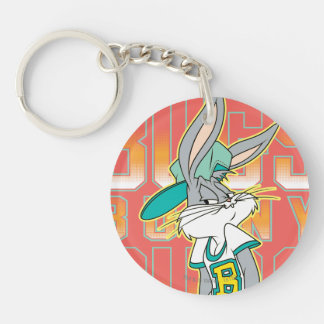 BUGS BUNNY™ Cool School Outfit Double-Sided Round Acrylic Keychain