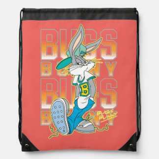 BUGS BUNNY™ Cool School Outfit Drawstring Backpack