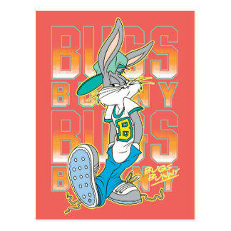 BUGS BUNNY™ Cool School Outfit Postcard
