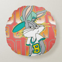 BUGS BUNNY™ Cool School Outfit Round Pillow