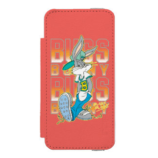 BUGS BUNNY™ Cool School Outfit Wallet Case For iPhone SE/5/5s