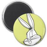 Bugs Bunny dañoso Imanes De Nevera