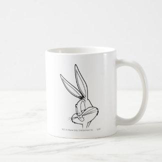 Bugs Bunny dañoso Tazas De Café