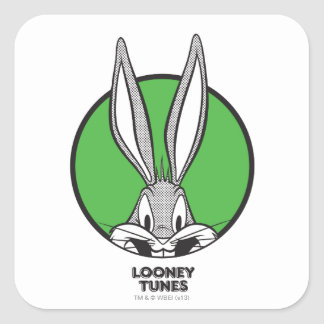 BUGS BUNNY™ Dotty Icon Square Sticker