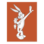 BUGS BUNNY™ Eating Carrot Postcard