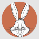 BUGS BUNNY™ Face Smiling Classic Round Sticker