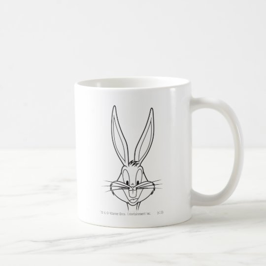 BUGS BUNNY™ Face Smiling Coffee Mug