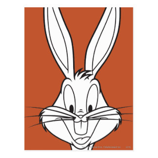BUGS BUNNY™ Face Smiling Postcard