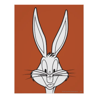 BUGS BUNNY™ Face Smiling Poster