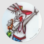 BUGS BUNNY™ Hipster 2 Classic Round Sticker