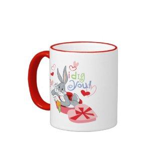 Bugs Bunny I Dig You! mug