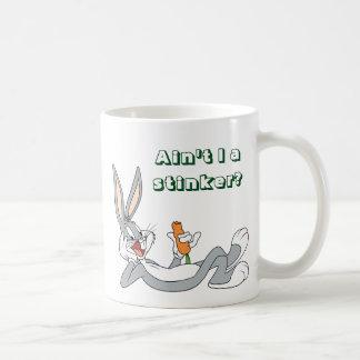 BUGS BUNNY™ Lying Down Eating Carrot Coffee Mug