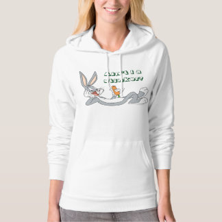 BUGS BUNNY™ Lying Down Eating Carrot Hooded Pullover